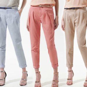 Какие бывают фасоны женских брюк