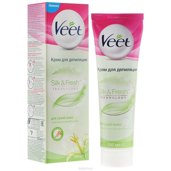 Крем для депиляции Veet