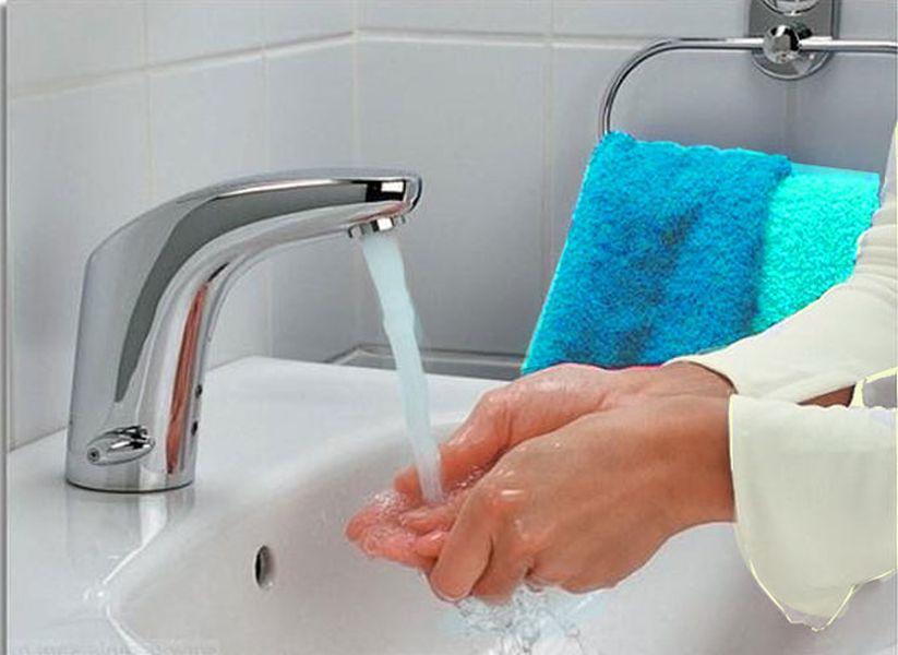 Вода комфортной температуры для рук