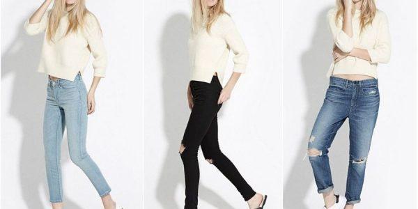 Как и с чем носить джинсы-слоучи