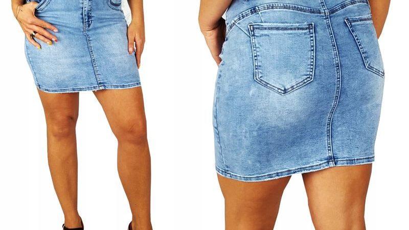 Женские джинсовые юбки по-прежнему в моде